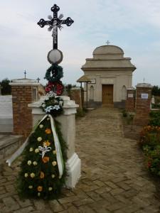 Friedhof an Allerheiligen im Jahr 2010