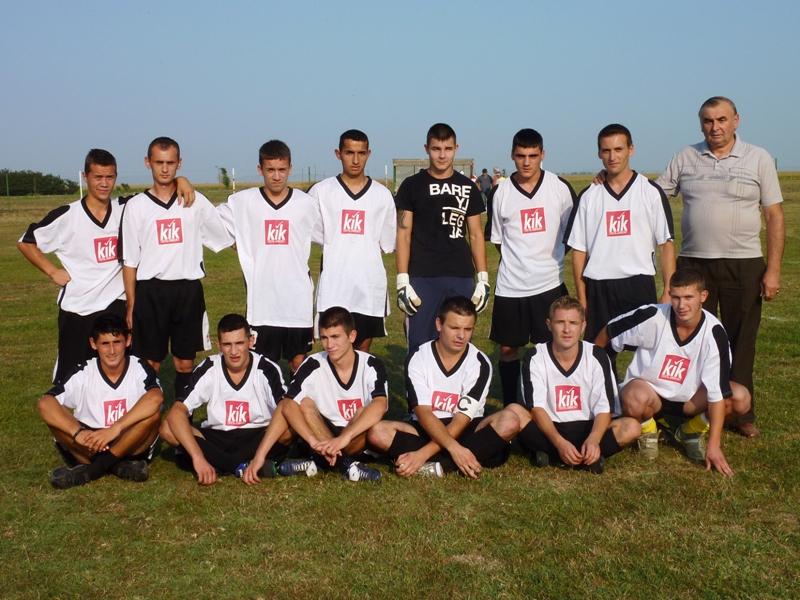 Die Mannschaft der A.S. -HOG Lenauheim im Jahr 2011