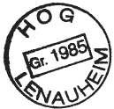 Stempel der HOG Lenauheim