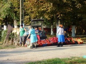 Markttag in Lenauheim im Sommer 2011