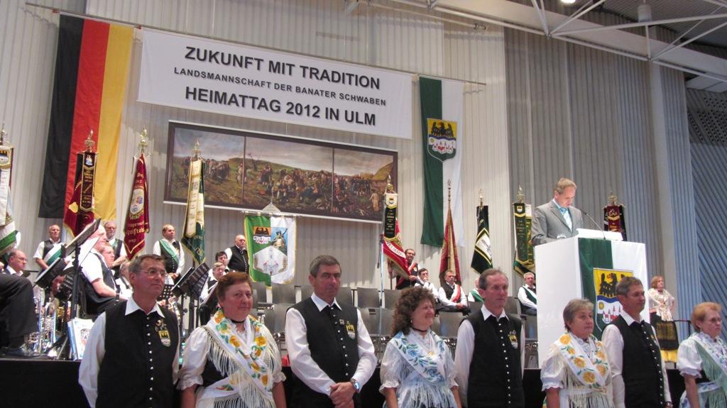 Beim Heimattag 2012 in Ulm