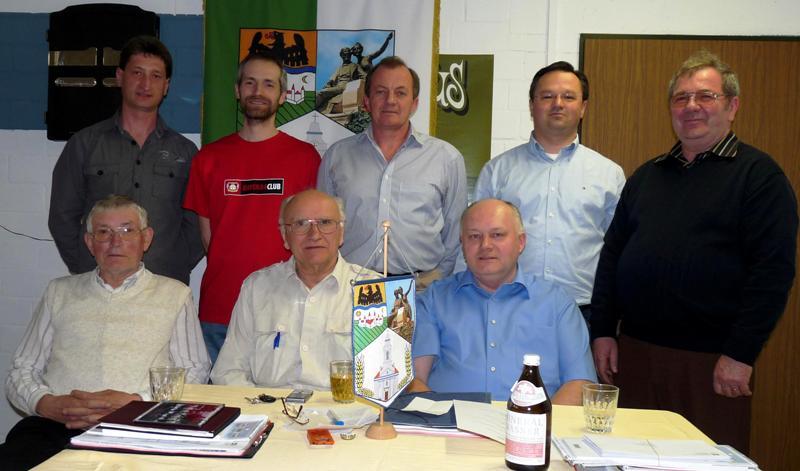 Der Vorstand der HOG Lenauheim bei seiner Tagung in Mannheim