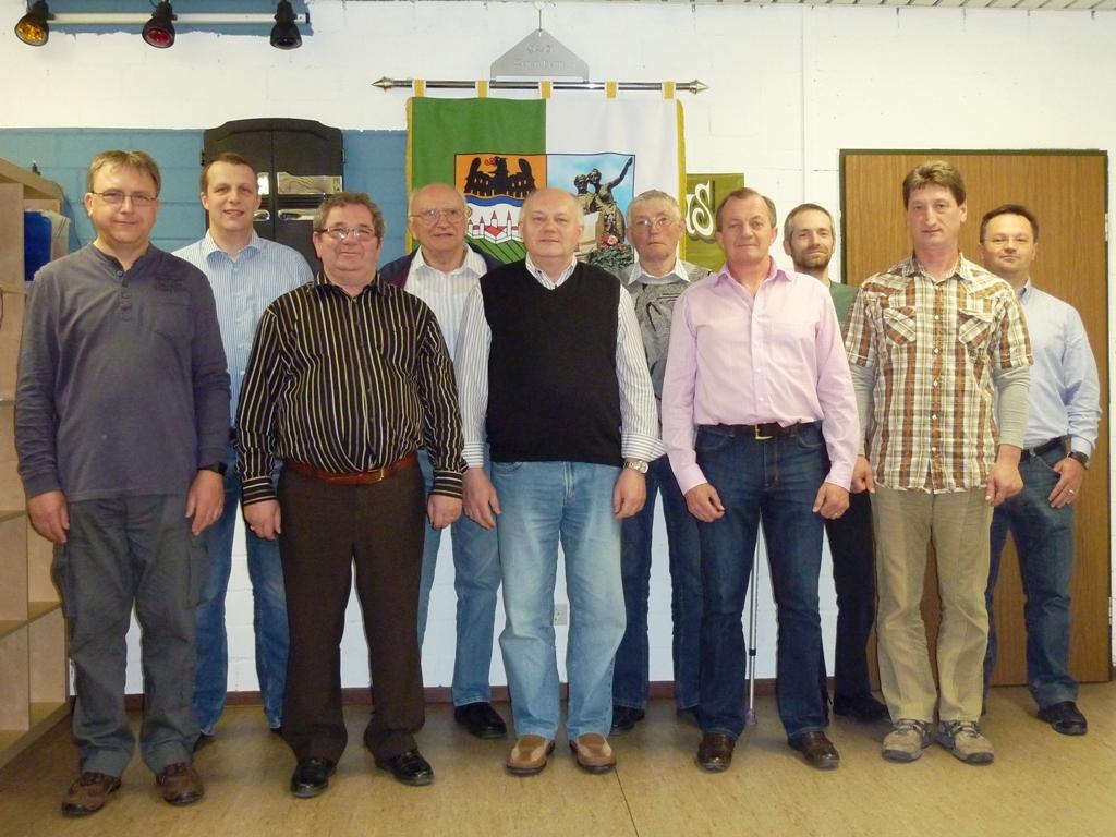 Der HOG-Vorstand in Mannheim