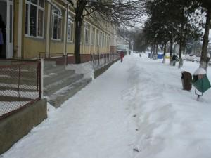 Lenauheim liegt unter einer dicken Schneedecke