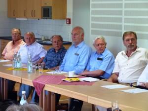Bei der Sitzung des Hilfswerks