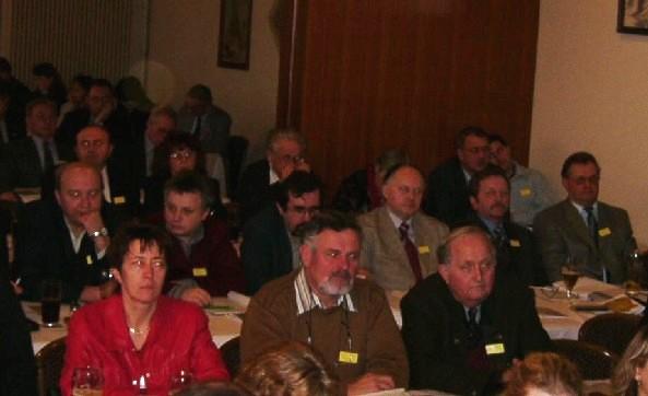 Bei der Hauptversammlung der Landsmannschaft der Banater Schwaben 2005