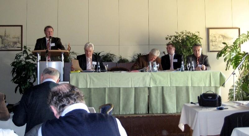 Währen der Hauptversammlung 2008