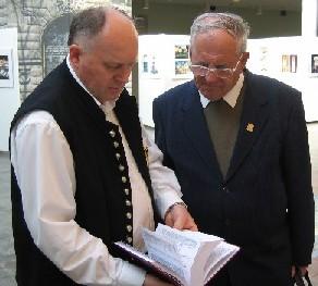 Ignaz Fischer mit Werner Griebel