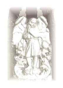 Engel auf dem Lenauheimer Friedhof