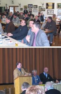 Bei der Tagung der Vorsitzenden der HOG's 2004