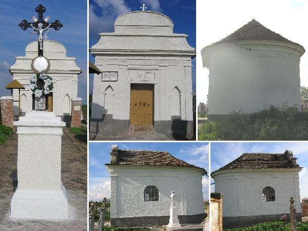 Die frisch renovierte Friedhofskapelle im Jahr 2004