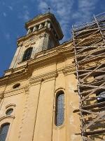 Die Basilika Maria Radna im Umbau