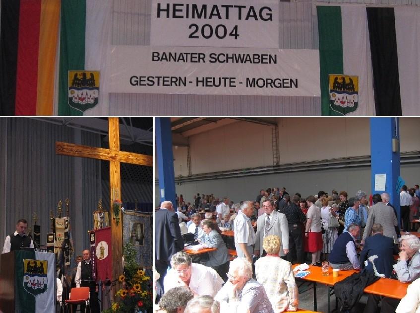 Am Heimattag 2004 in Ulm