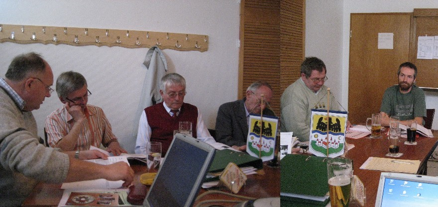 Vorstandstreffen der HOG Lenauheim am 12. Mai 2007
