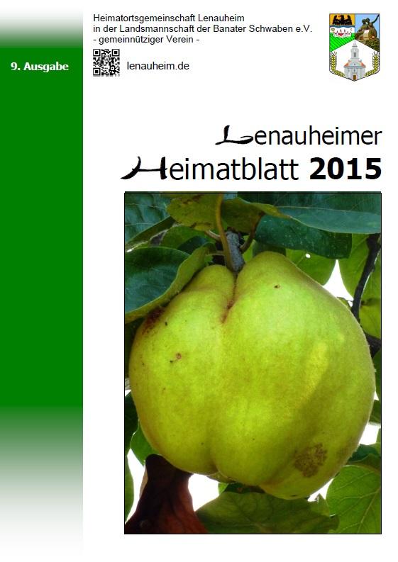 Lenauheimer Heimatblatt 2015