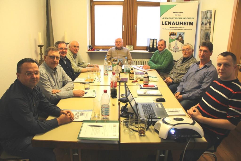 HOG Lenauheim Vorstandssitzung am 19.03.2016 in Mannheim