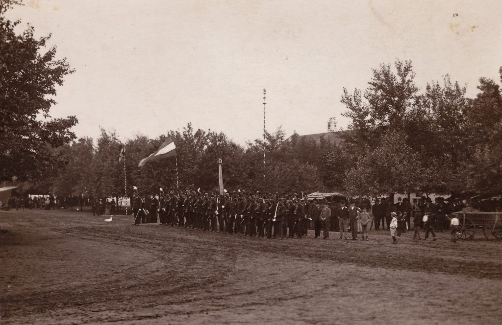 Eine Aufnahme aus dem Jahre 1898 (aus dem Archiv HOG Lenauheim)