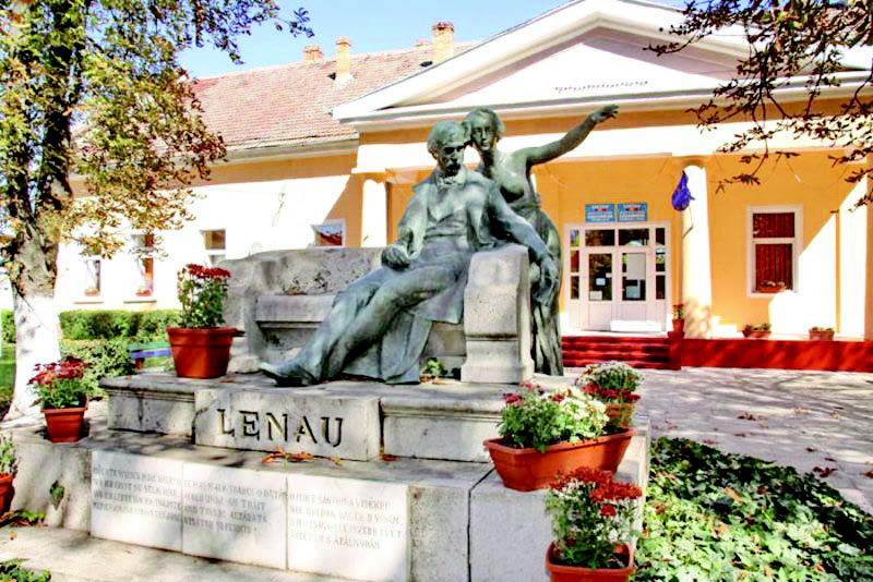 Lenaudenkmal in der Banater Gemeinde (Zoltan Pazmany)